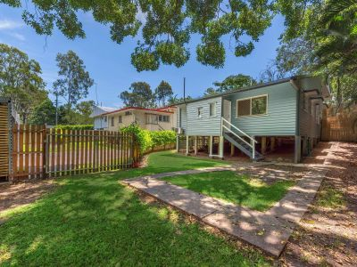 Private and Spacious Home with Huge Yard & Creek Frontage