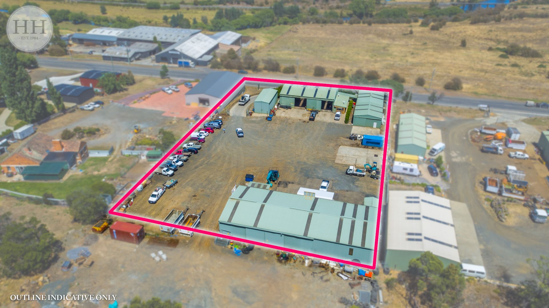 Fully Tenanted, Multiple Warehouses, Excellent Land Area