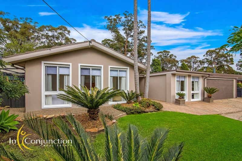 Hamptons style 4 bedroom home on large 950sqm block with pool and stunning gardens.