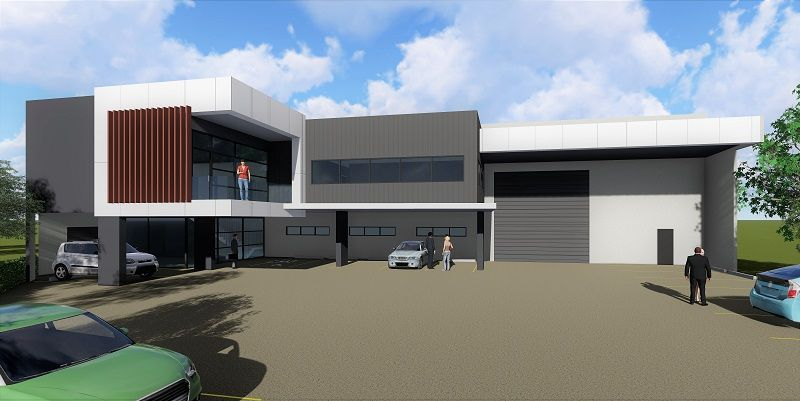 Construction Commenced ~ High Clearance Freestanding Warehouse