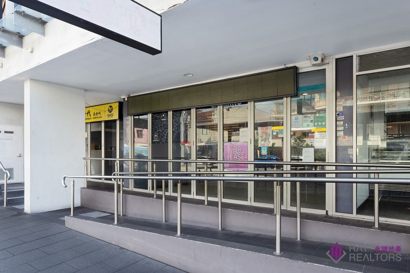 Street Front Modern Retail Shop