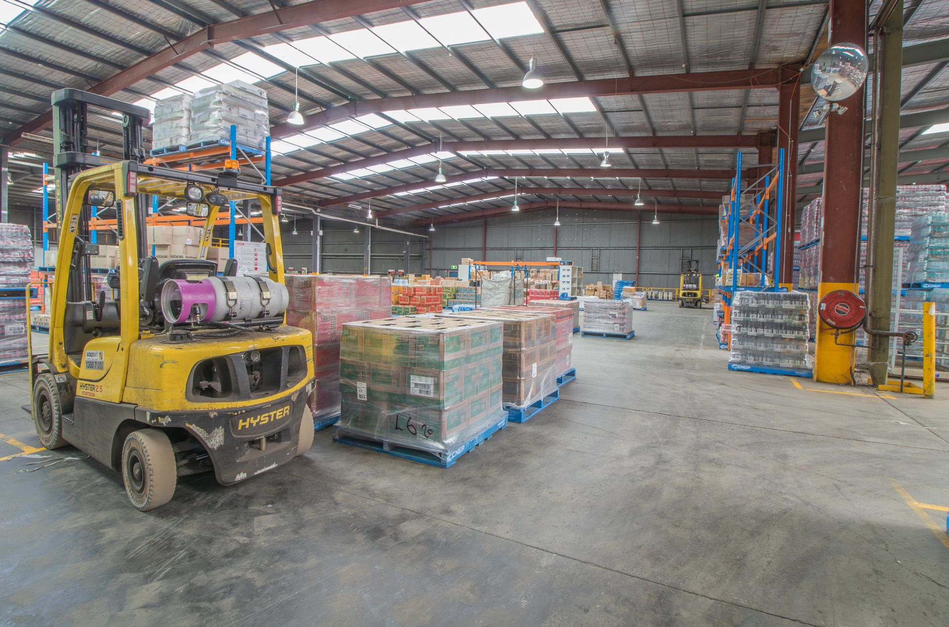 Industrial Investment - Leased to Globally Recognised Brand Coca-Cola Amatil