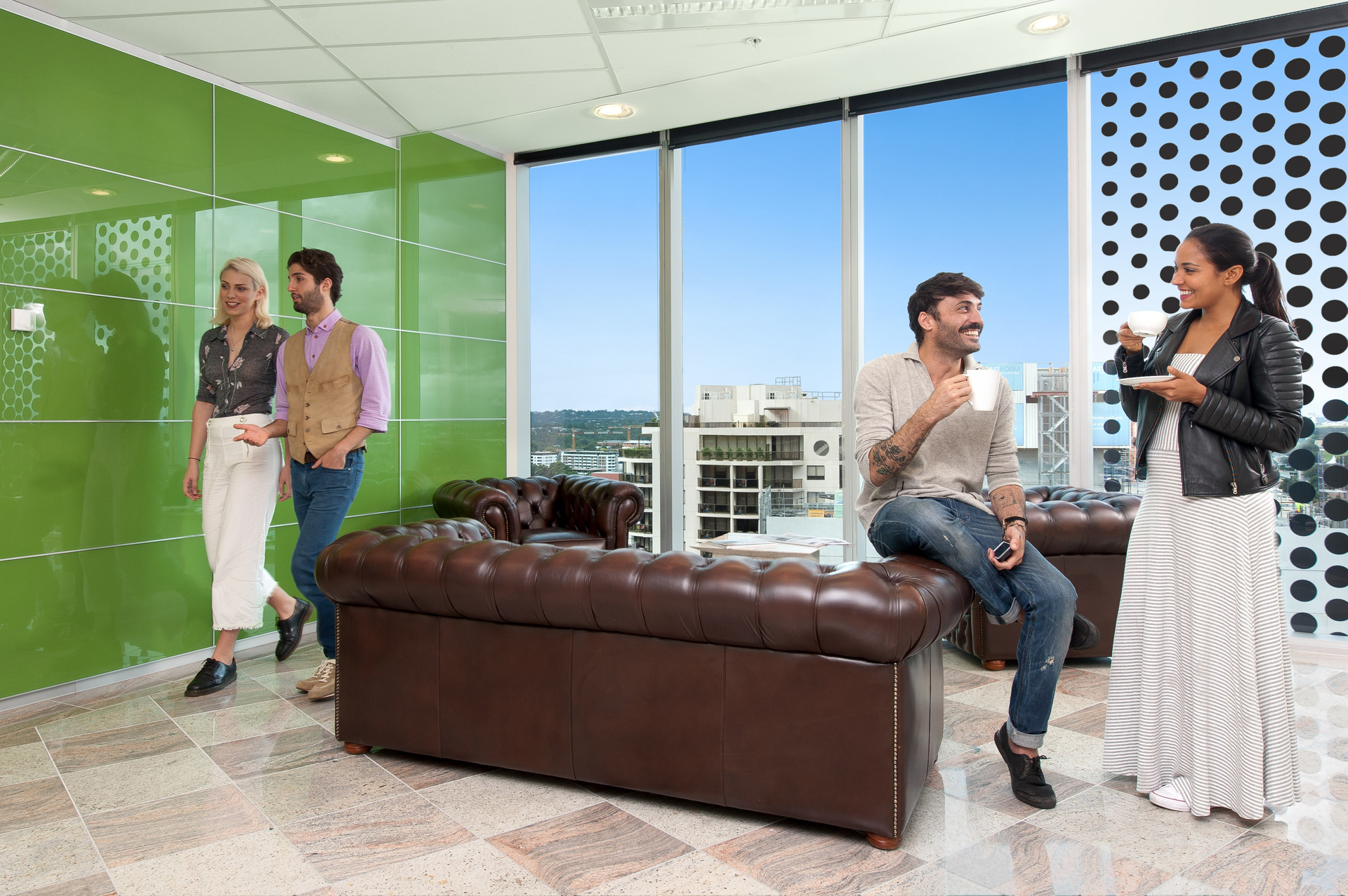 1-PERSON OFFICE IN PARRAMATTA WITH AMAZING VIEWS