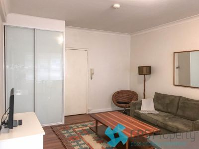 HUGE STUDIO IN THE HEART OF POTTS POINT - AVAILABLE FURNISHED OR UNFURNISHED