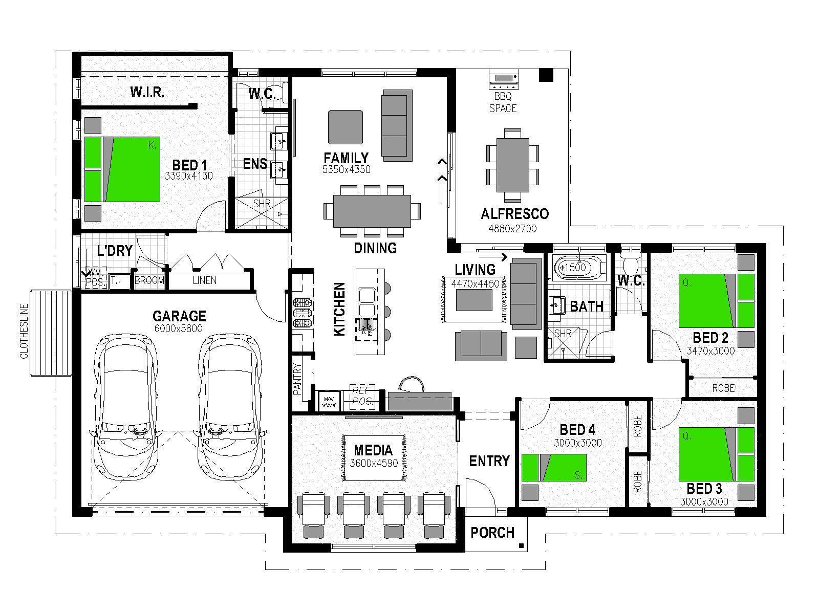 "LOT 5 ""MCKENZIE PARK"" GREENWATTLE STREET CRANLEY Floorplan"