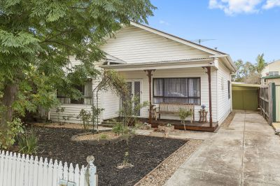 First time offered vintage home on 448m2 approx. in one of West Footscray's best streets!