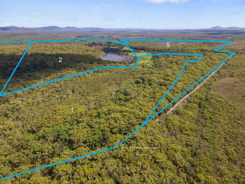Rural land 100 acres by the sea