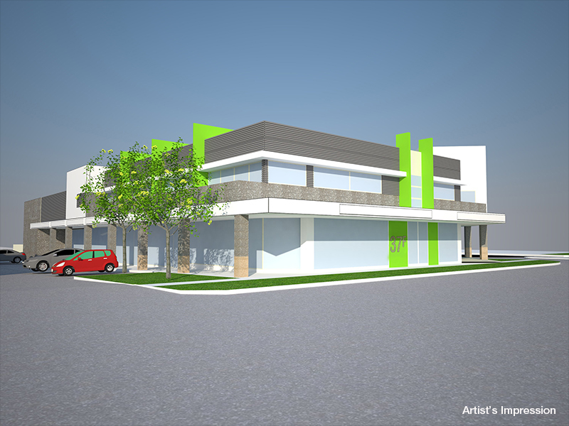 Mixed Use Development Site With Permit