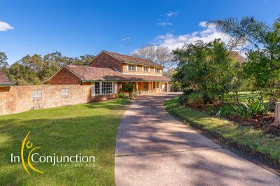 gorgeous country-style estate on 5 stunning acres with pool and shedding, ideal for horses, lifestyle - close ins glenorie location and corner block.
