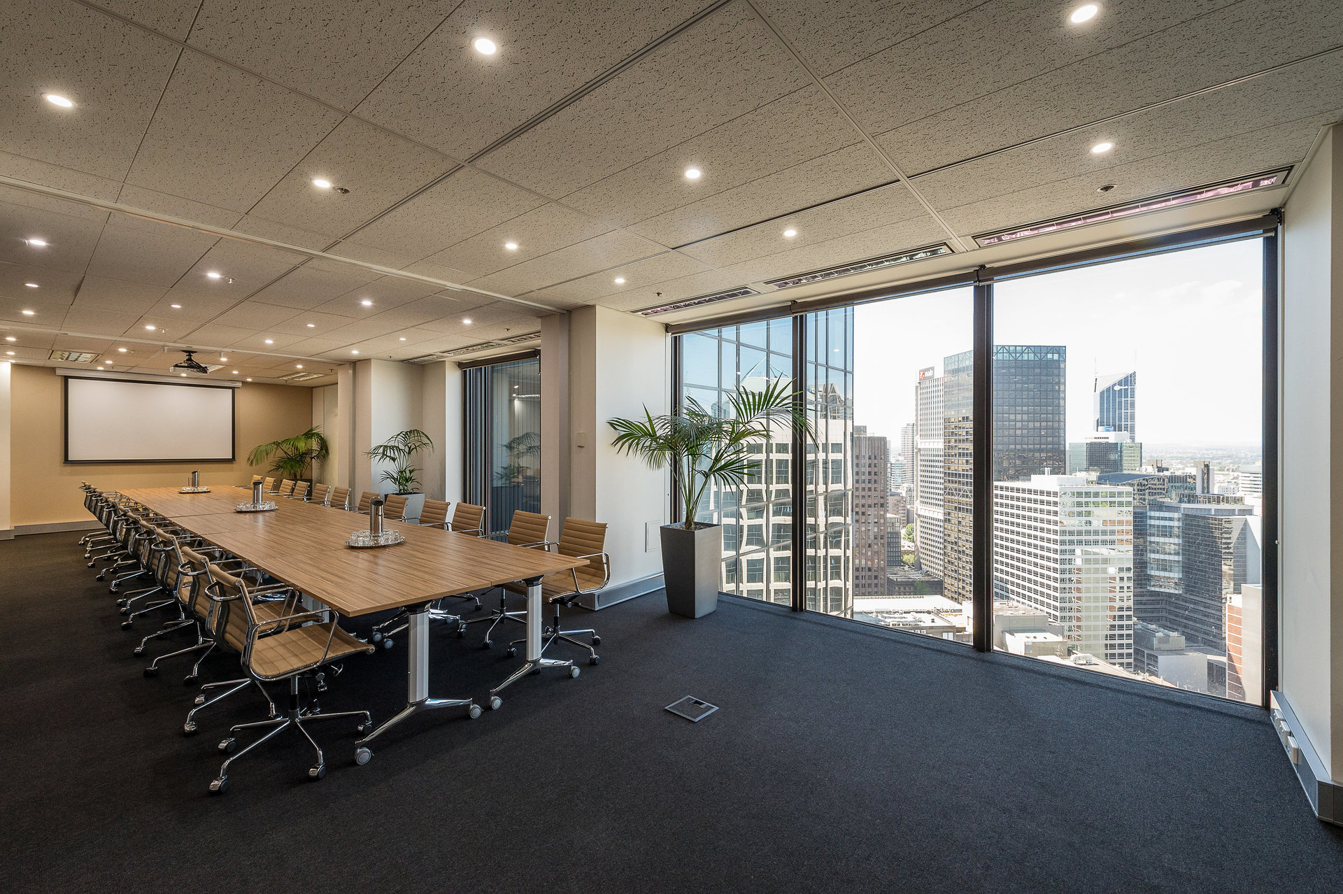 60 Square Metre Office Space available at Rialto Tower, 525 Collins St – Prestigious Location – All Inclusive Cost