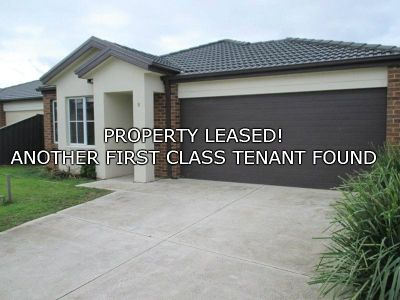 FIRST CLASS TENANT FOUND! When Only The Best Will Do!