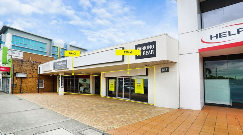 Open planned office/retail along busy Gympie Road, Chermside