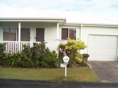 TWO BEDROOM HOUSE - OVER 50's RESORT LIFESTYLE LIVING.