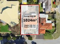 HUGE 1024sqm R20/60 DEVELOPMENT POTENTIAL