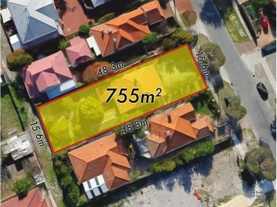 YOUR SECOND CHANCE - 755m2 OF PRIME INGLEWOOD LAND