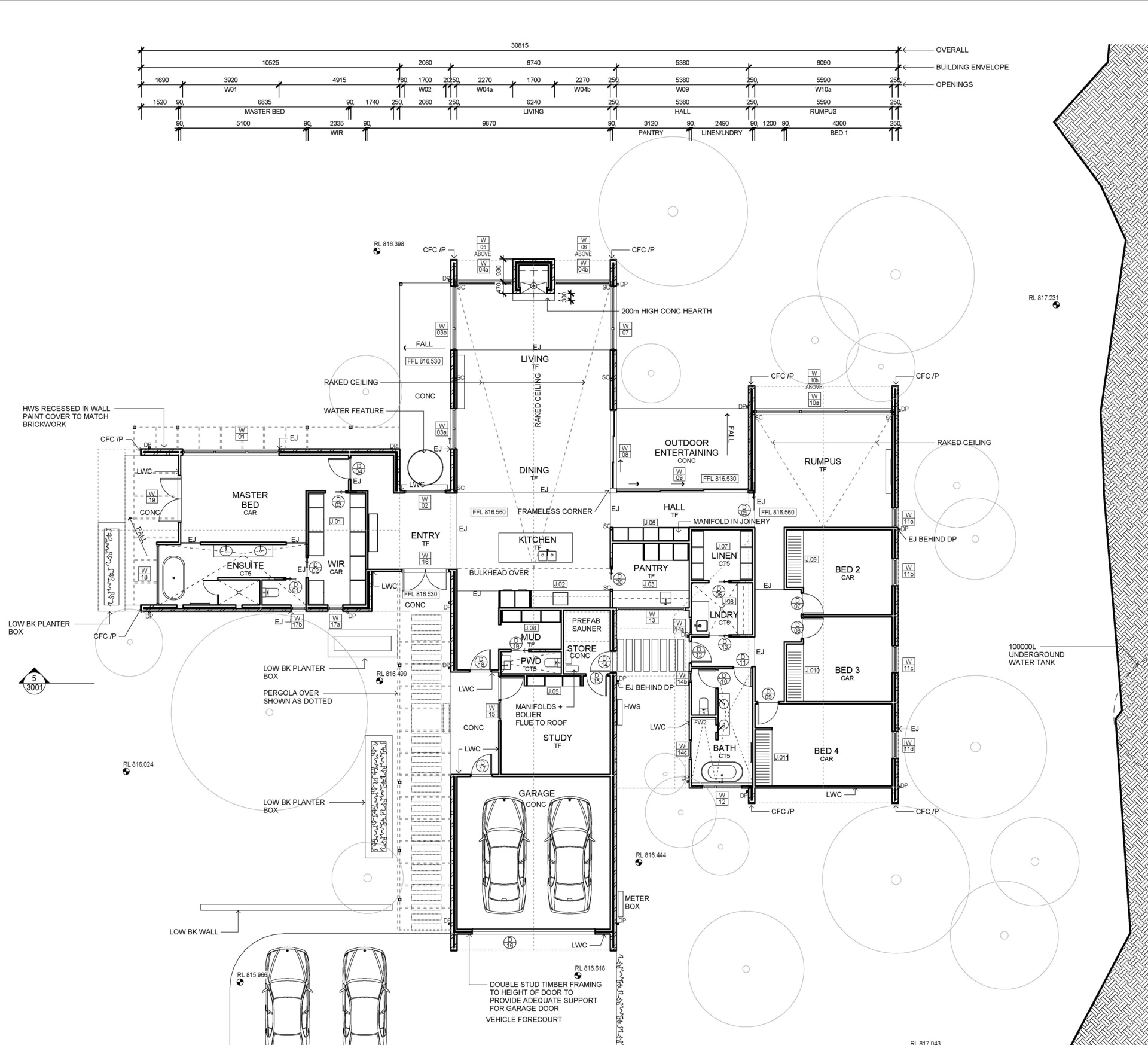 113 Rossi Drive - Floor Plan