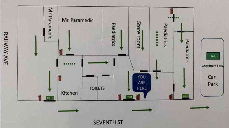 High Profile Corner Position Property - Railway Avenue