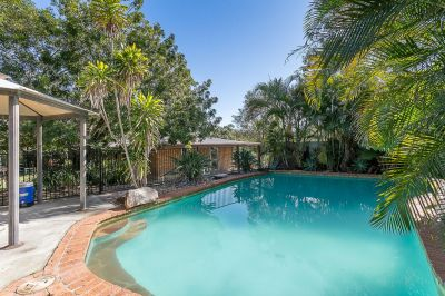 BEAUTIFUL HOME IN PRIVATE TROPICAL RETREAT  WITH SHEDS AND A POOL!