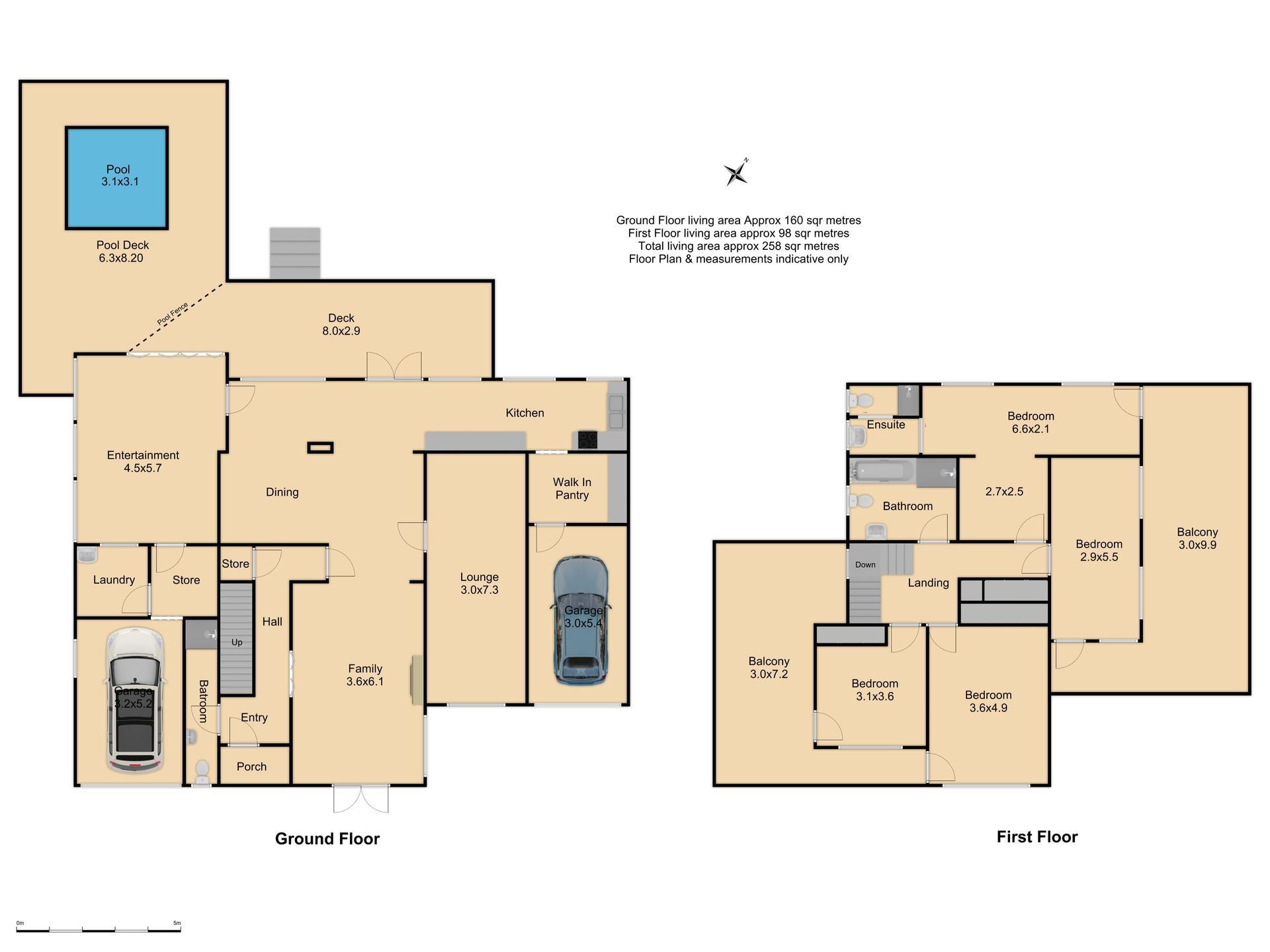 9 Rowan Street - Floor Plan