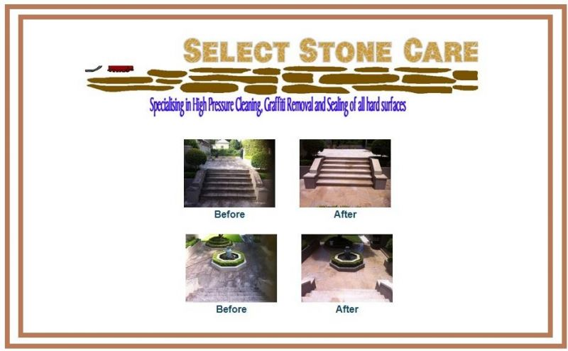 SELECT STONE CARE (HIGH PRESSURE CLEANING AND SEALING SPECIALISTS)