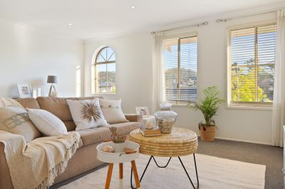 Spacious, open plan living well suited to family relaxation