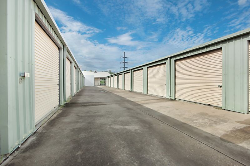 Secure storage ideal for small businesses or household goods