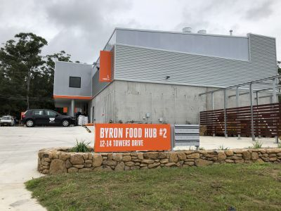 Be part of the the exciting Byron Food Hub - Available for short term lease