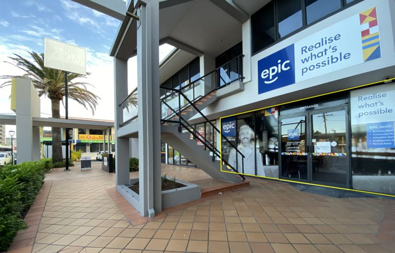 110SQM OFFICE ON THE GOLD COAST HIGHWAY, GROUND FLOOR