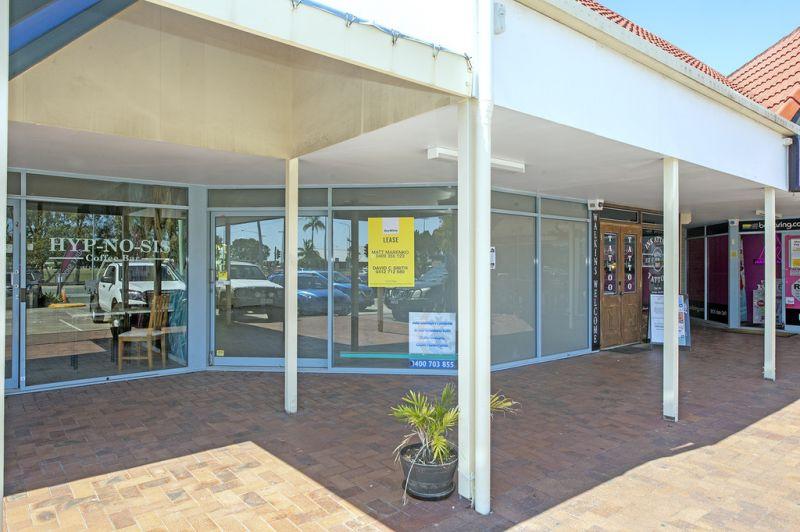 Renovated Shop with Nicklin Way Exposure