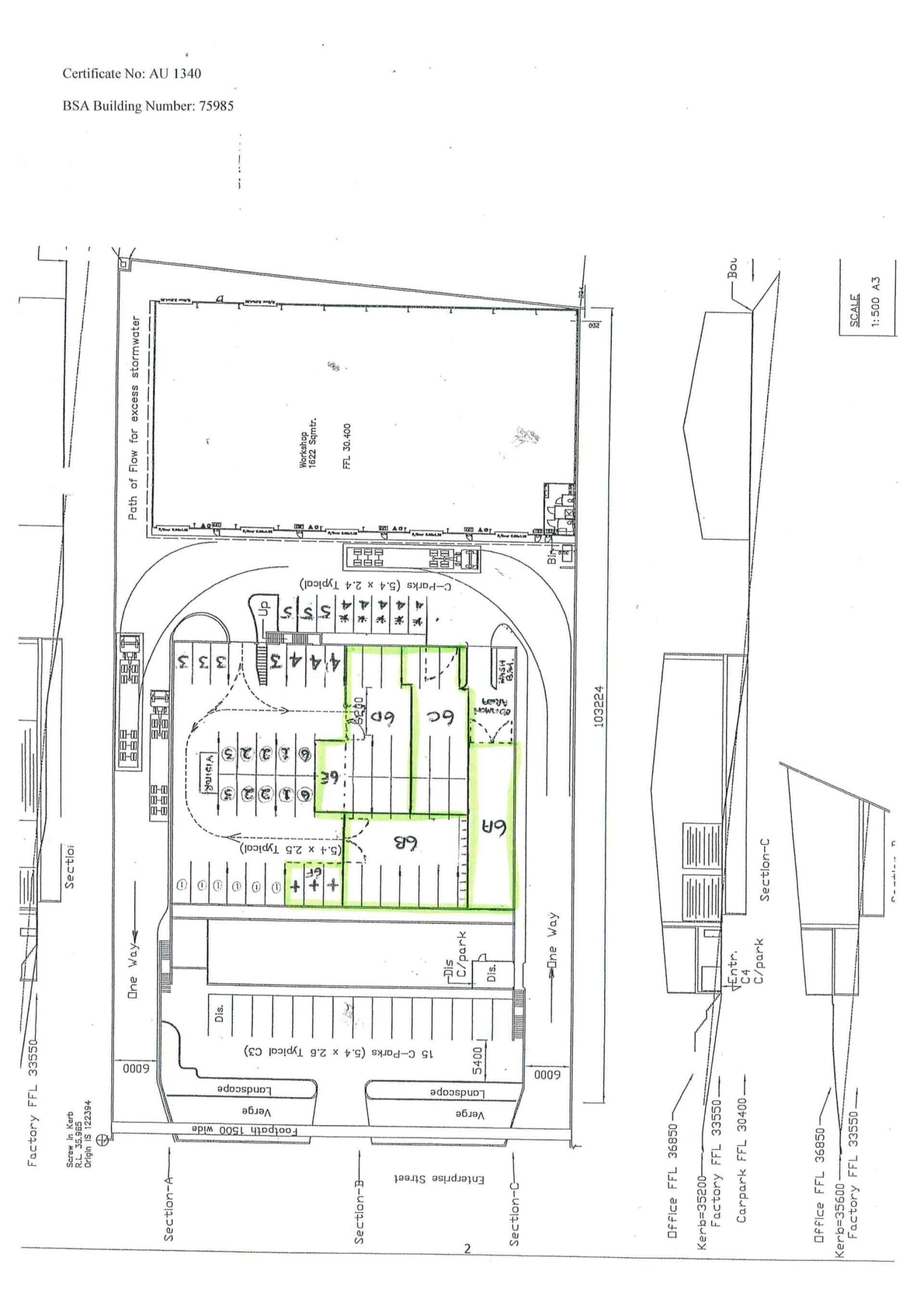 36sqm - 647sqm Secure Storage Space Available