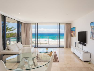 Luxury Beachfront Apartment