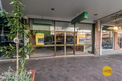 Large retail space in electric street