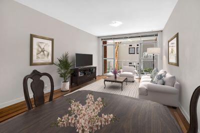 North Facing Apartment in Convenient Locale