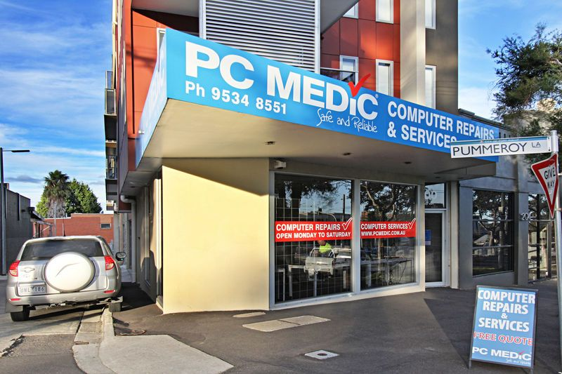 RETAIL / OFFICE WITH GREAT EXPOSURE ON ST KILDA RD