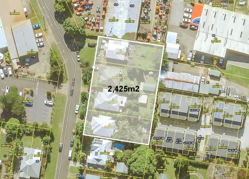 4 LOTS x Town Centre Development Opportunity with Holding Income....
