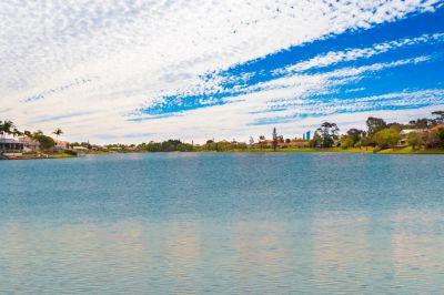 NORTH TO WIDE WATER AT LAKE HUGH MUNTZ