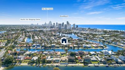 Mermaid's most tightly held waterfront location! Beach just short stroll away!