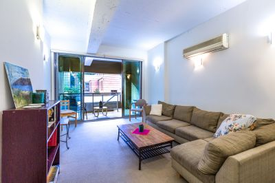 Sprawling Lifestyle in Charming Two Bedroom Apartment + Study/Bedroom