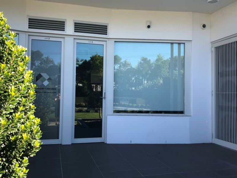 CBD ground floor office space with on site parking.