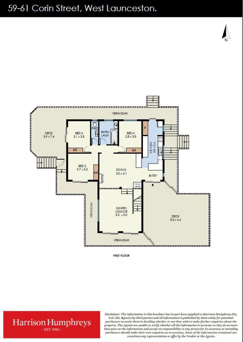 59 Corin Street Floorplan