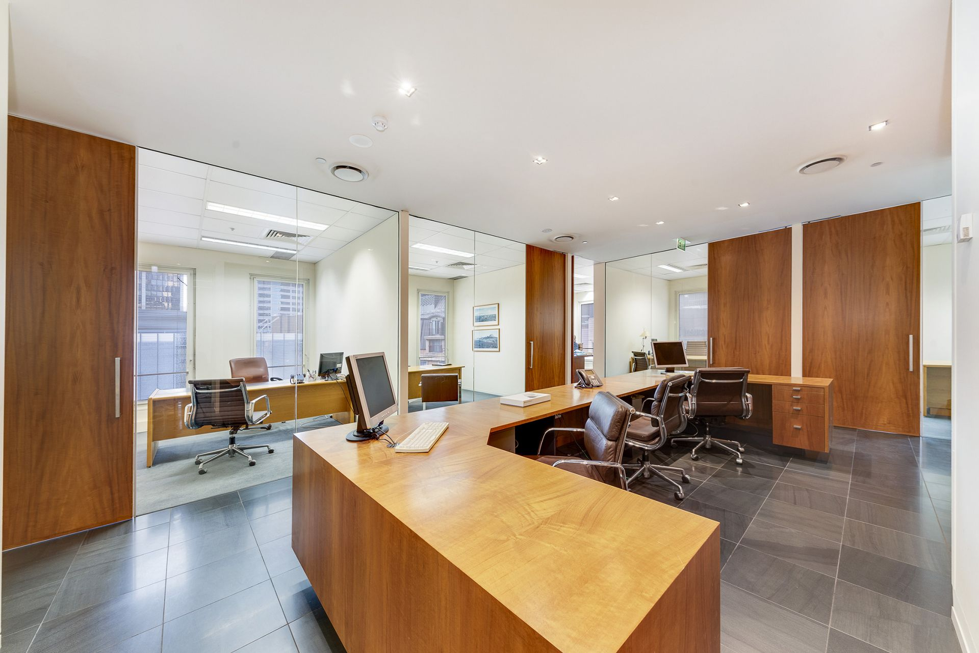 Fully furnished Legal style fit out