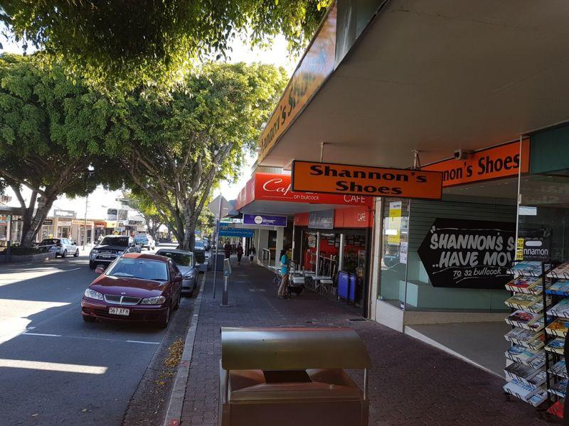 Main Street Shop Front in Caloundra