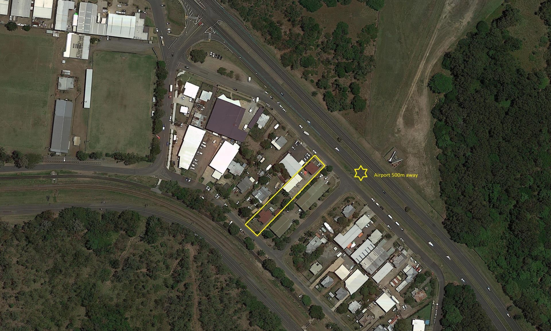 HUGE DEVELOPMENT OPPORTUNITY. CAPTAIN COOK HIGHWAY EXPOSURE RIGHT NEAR AIRPORT