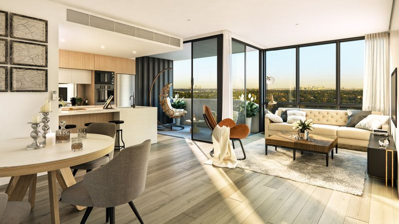 Spectacular, Large 2 bed apartment in Epping's Most Exclusive  Residential Tower with resident exclusive facilities, security parking and storage.