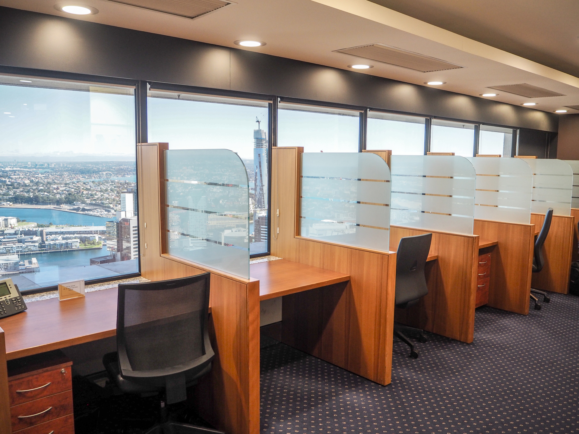 Executive Suites with stunning harbour and city views