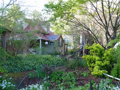 SOLD Organic Herbs Farm Gorgeous Small Footprint Cottage and Studios in the Victorian High Country