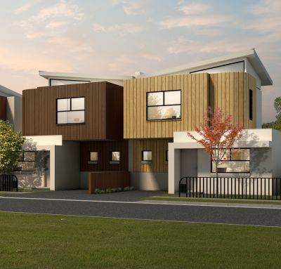 Exquisite townhomes available to purchase now as 'house and land' packages