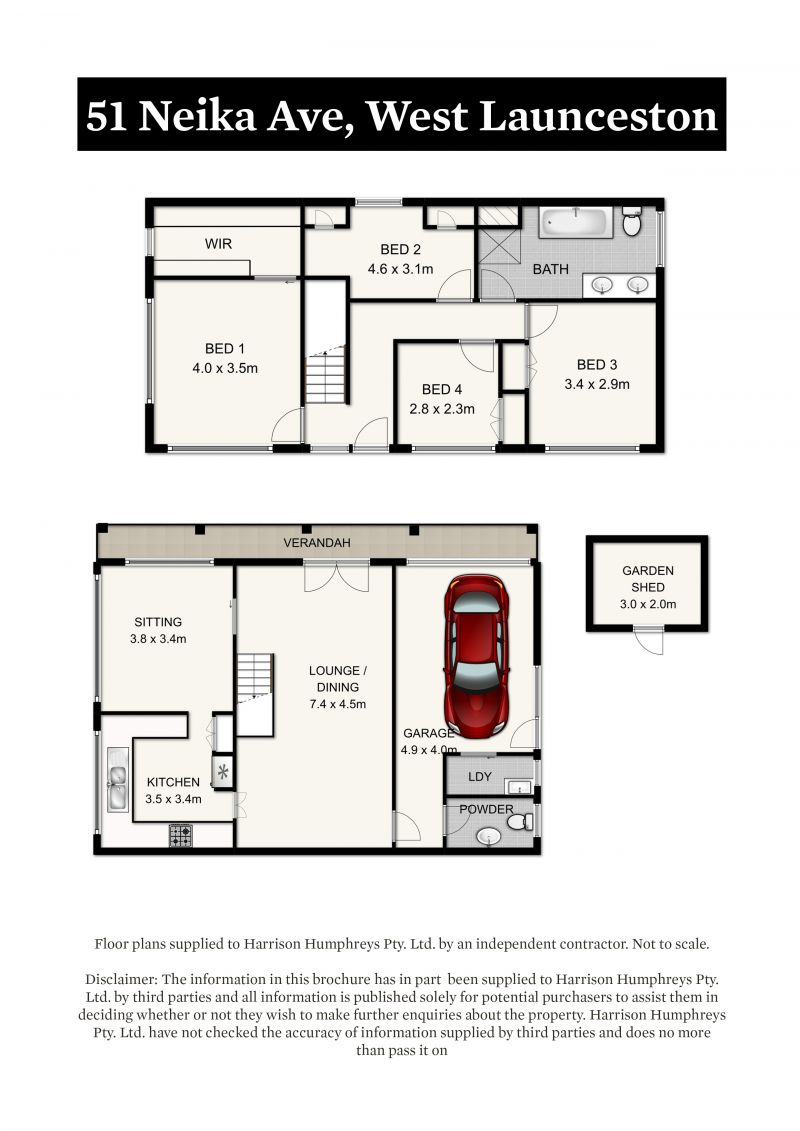 51 Neika Avenue Floorplan