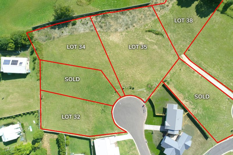 NEW LAND RELEASE - Lot 34 (With DA approved  house plans, if desired?)
