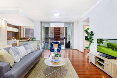 Spacious North Facing Apartment with Ample Courtyard in Optimal Location